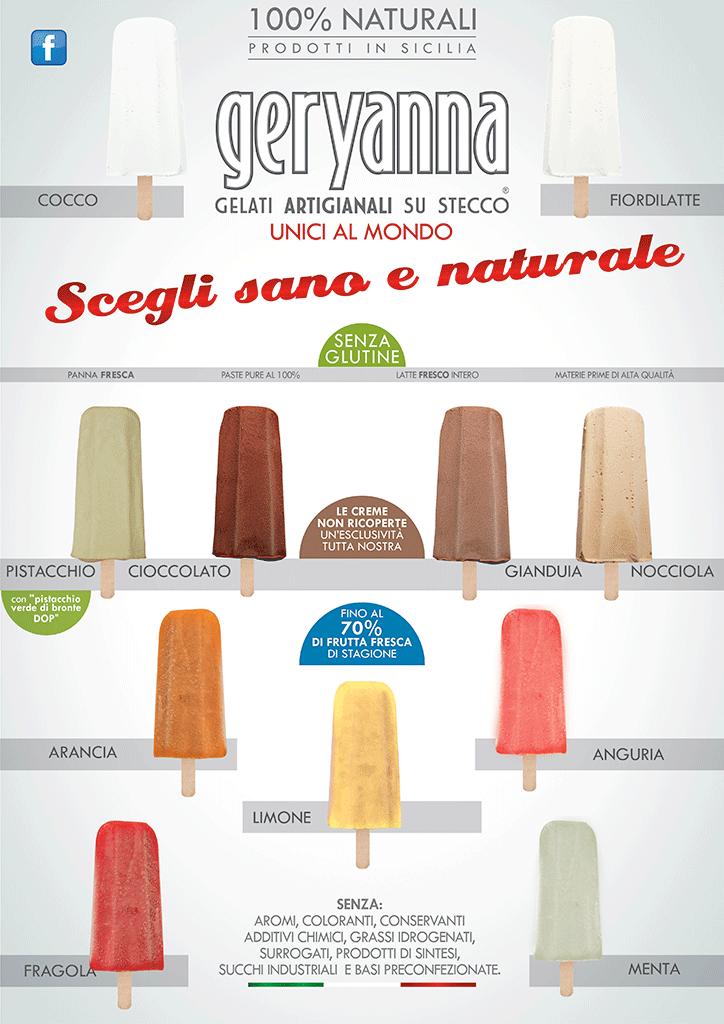 gelato artiginale siciliano
